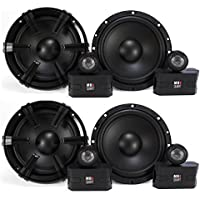 4) MB Quart 6.5 90 Watt Component Speakers Speaker System Set Four| DC1-216