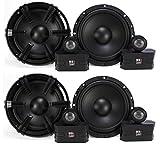 4) MB Quart 6.5'' 90 Watt Component Speakers Speaker System Set Four| DC1-216