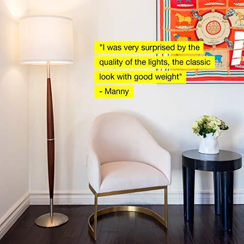 Brightech LED Floor Lamp - Living Light Beside The In Corners Tall Standing Lighting For Bedrooms