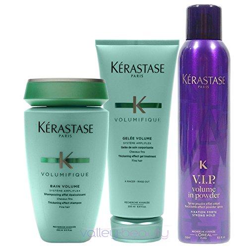 - Kerastase Ultimate Volume Trio (Bain, Gelee, V.I.P. Spray)