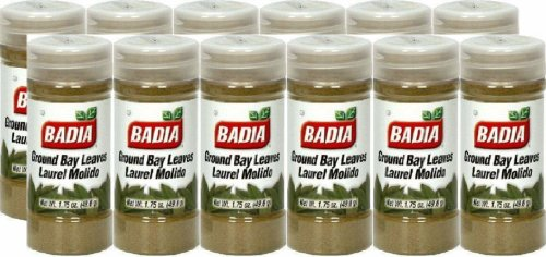Badia Spices inc Spice, Bay Leaves Ground, 1.75-Ounce (Pack of 12) by Badia (Image #1)