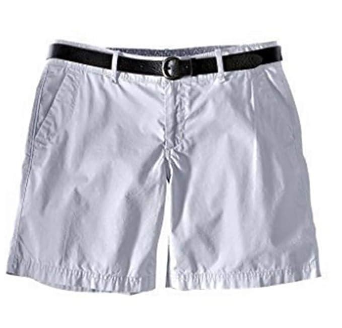 7795e372bd08 Shorts Bermudas Mujer de Eddie Bauer - algodón, Gris Azulado, 100 ...
