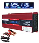 2000W (1000 watts continuous ) Power Inverter for Home Car RV with 2