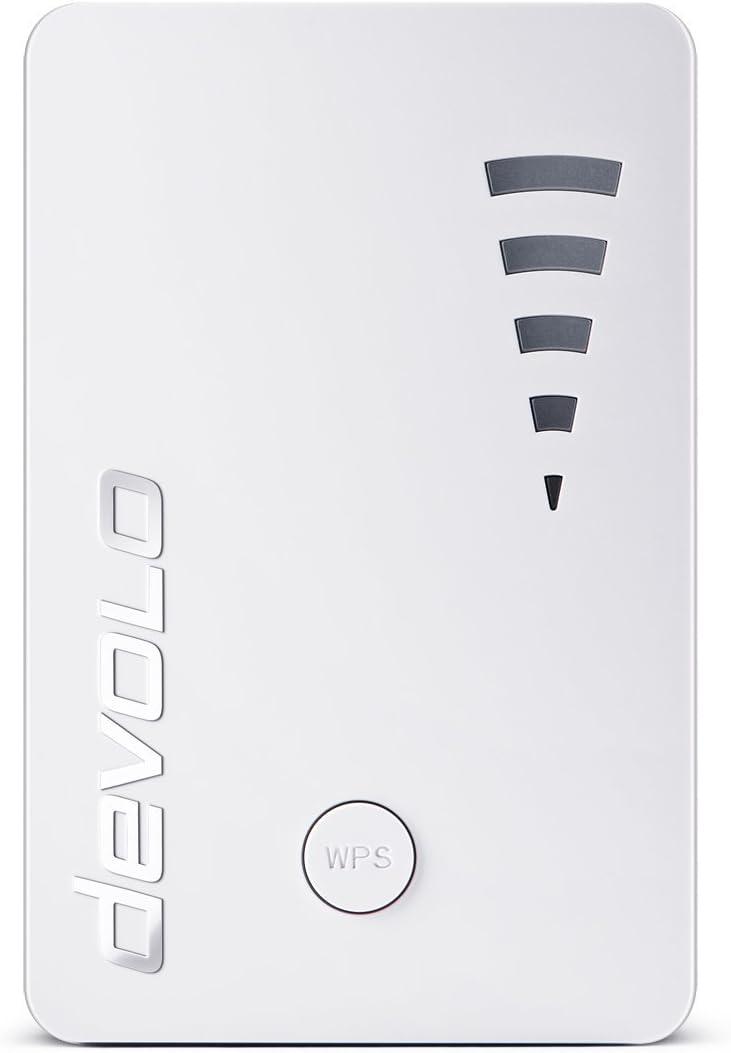Devolo 9790 WiFi Repeater ac (1200 Mbit/s, 1x Port Gigabit, WPS, Répéteur...
