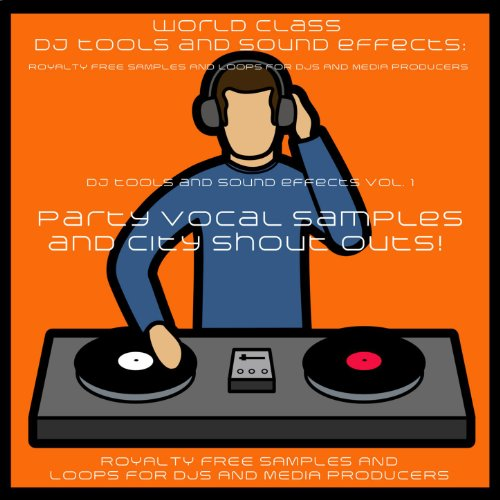 DJ Party Vocal Samples and Sound Effects Tallahassee Where You At x 2 Male -