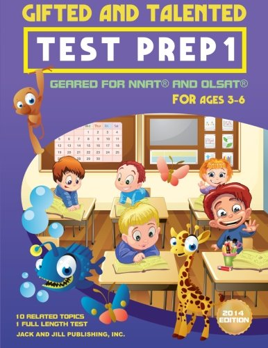 Gifted and Talented Test Prep 1: Geared For NNAT and OLSAT F