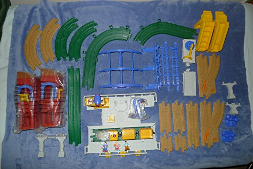 Geo Trax GRAND CENTRAL STATION REMOTE CONTROL TRAIN Set w SOUNDS &