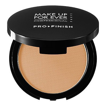 MAKE UP FOR EVER Pro Finish Multi-Use Powder Foundation 123 Golden Beige 0.35 oz