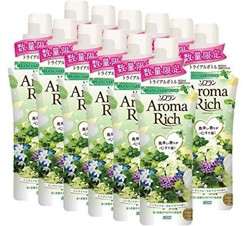 ソフランアロマリッチ ミンティフローラルアロマの香り(企画限定の香り) 400mL×12個セット