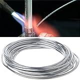 Techinal 2mm X 3m Copper Aluminum Cored Wire Low Temperature Aluminium Welding Rod