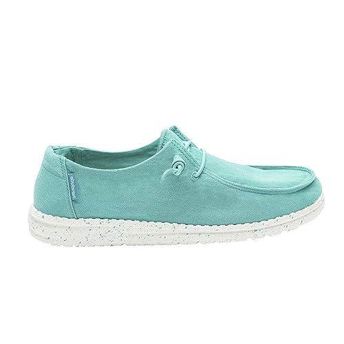 Dude Shoes Damenwendy Gewaschene Minze: : Schuhe