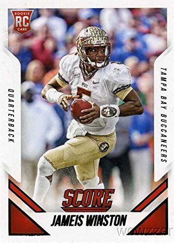 Jameis Winston 2015 Score #366 ROOKIE Card in MINT Condition! Shipped in Ultra Pro Top Loader to Protect it! Awesome ROOKIE Card of Tampa Bay Buccaneers #1 NFL Draft Pick Future Superstar !