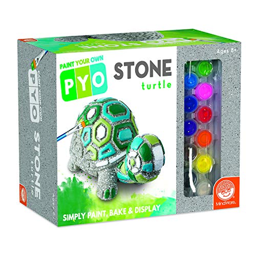MindWare Paint Your Own Stone (Box Turtle)