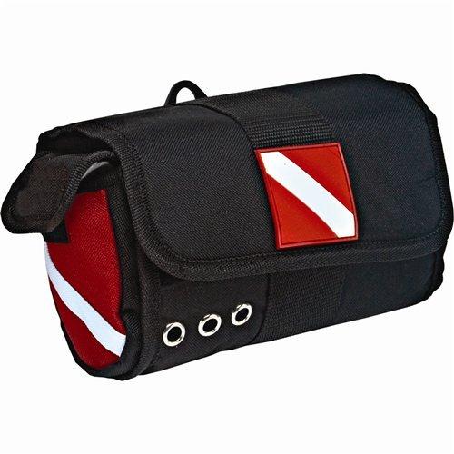 Innovative Dive Flag Mask Bag - Black (Snorkel Flag)