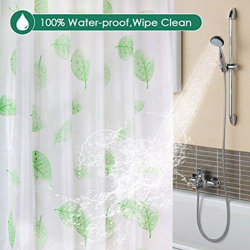 Waterproof Liner Long Bathroom Bath Shower Liner Wimaha Clear EVA Shower Curtain