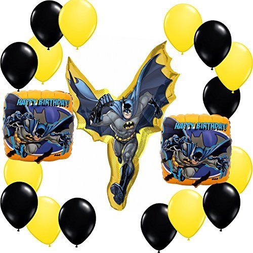 Batman Happy Birthday Balloon Decoration Kit -
