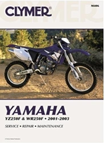 amazon com clymer repair manual for yamaha yz250f wr250f 01 03 rh amazon com Clymer Reamer Specs Clymer Manuals Review