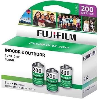 pellicules film photos 24x36 Fuji couleur C 200 iso asa