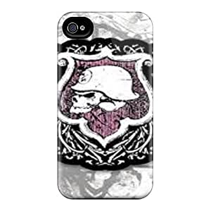 AlissaDubois iPhone 4 4s Perfect Hard Cell-phone Case Allow Personal Design Stylish Metal Mulisha Pictures [hOj10304MbEd]