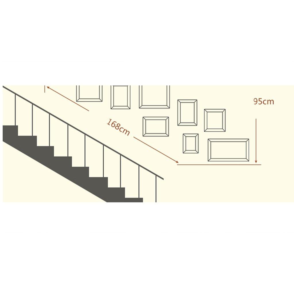Bilderrahmen Collage Europäische Korridor Treppe Rahmen Wand ...
