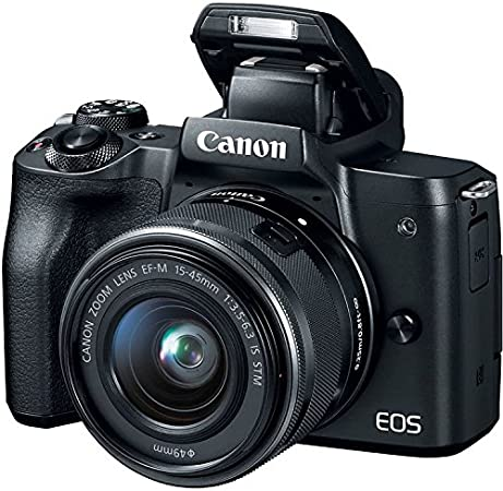 Canon EOS M50 15-45mm Lens Video Creator Kit product image 8