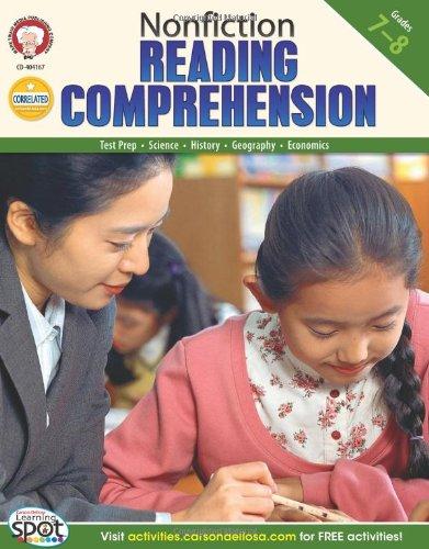 Nonfiction Comprehension Test (Nonfiction Reading Comprehension, Grades 7 - 8)