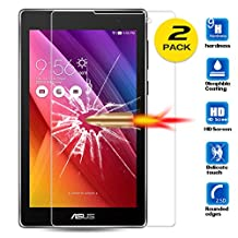 """For Asus ZenPad C / Z170CG 7.0"""" Tempered Glass Screen Protector - Amaxy (2PCS)"""