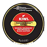 KIWI Black Parade Gloss Shoe Polish and Shine