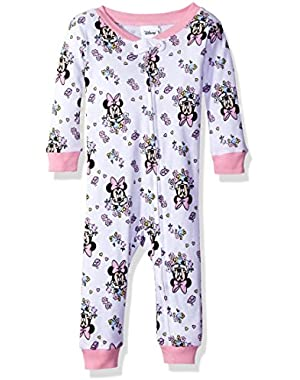 Baby Girls' Infant Minnie Mouse Sleeper