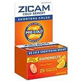 Zicam Ultra Cold Remedy Bi-Layer RapidMelts Quick Dissolve Tablets Orange Cream Flavor (Pack of 4)