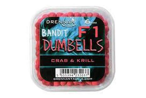 Drennan Bandit mancuernas F1 PINK CRAB AND KRILL 6 MM