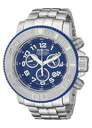 Invicta Men's 16652 Sea Hunter Analog Display Swiss Quartz Silver Watch