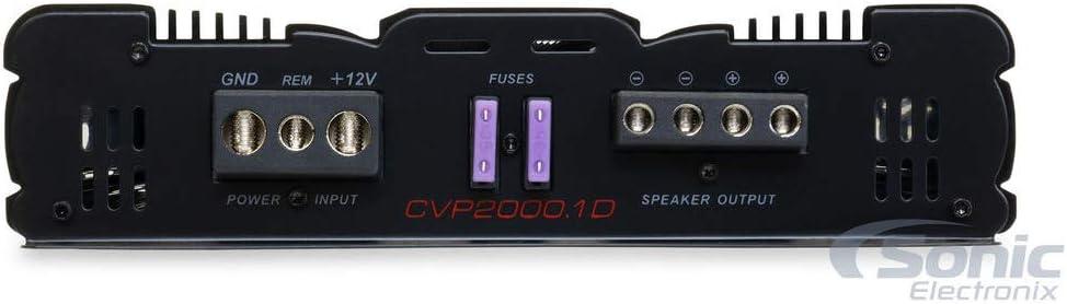 1000W RMS Cerwin Vega CVP2000.1D CVP Series Monoblock Class-D Amplifier Free LAB Sticker