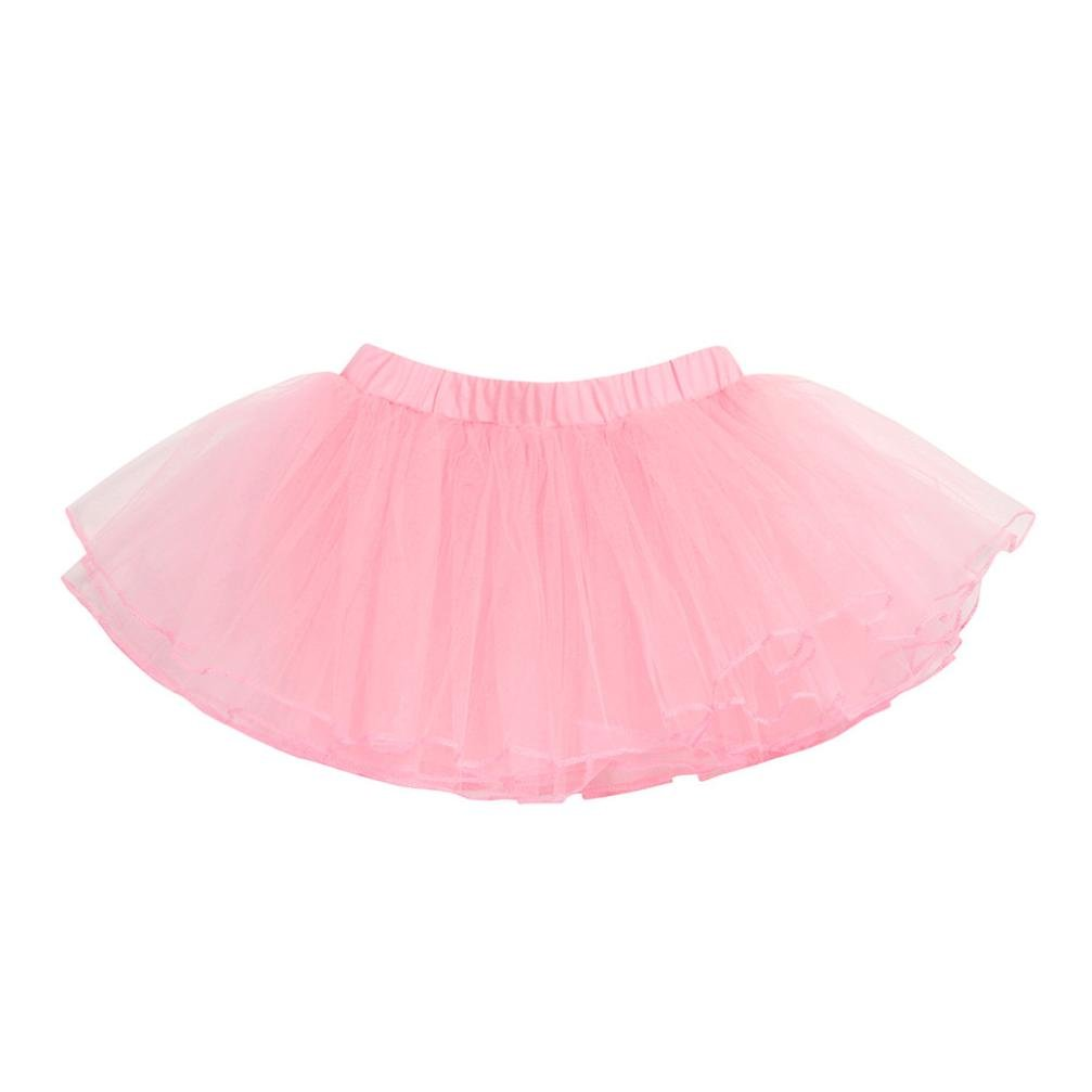 Iuhan Baby Girls Fluffy Tutu Skirt Princess Ballet Dance Wear Costume Party Tutu