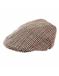 Men's Hawkins Classic Tweed Flat Cap