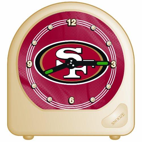 NFL San Francisco 49ers Desk Clock, 2.75