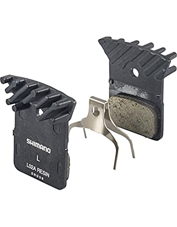 Shimano L02A Resin Disc Brake Pads with Fin for Flat Mount BR-RS805, BR