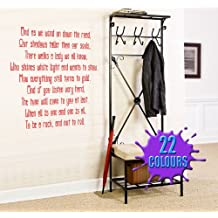 Stairway To Heaven (Led Zeppelin Lyric wall decal sticker quote (Color: Metallic Silver Size: Large)