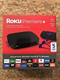 Brand New/Sealed Roku Premiere+ 4K UHD Streaming Media Player 4630RW, Quad-Core Processor, Dual-Band Wi-Fi, and IR Remote, includes HDR, Ethernet, MicroSD slot