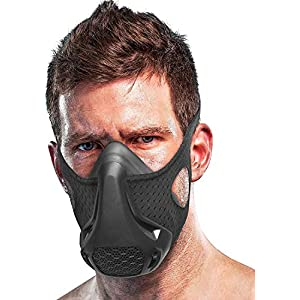 Kaufam Workout Mask – High Altitude Elevation Simulation – for Gym, Cardio, Fitness, Running, Endurance and HIIT…