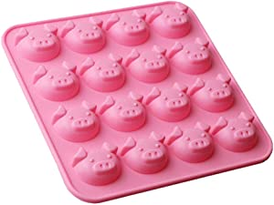 HAIOPS Small Pig DIY Silicone Mold for Cake Cookie Chocolate Candy Ice Cube