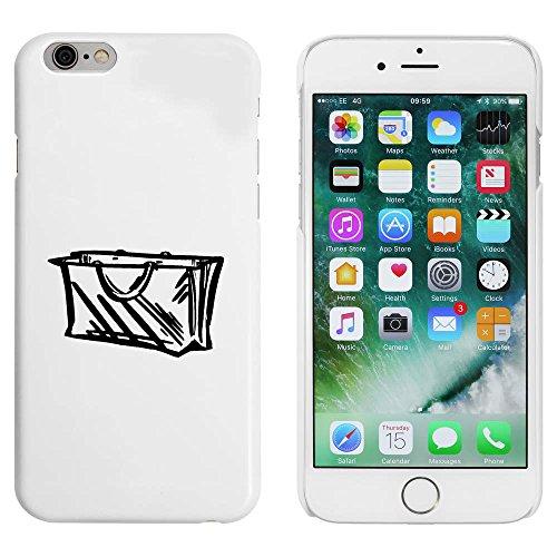 Weiß 'Tasche' Hülle für iPhone 6 u. 6s (MC00090793)