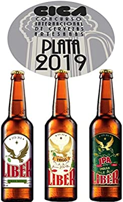 LIBER Trigo - Mejor cerveza 2019 MEDALLA PLATA CONCURSO ...