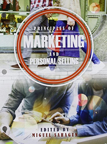 Principles of Marketing and Personal Selling