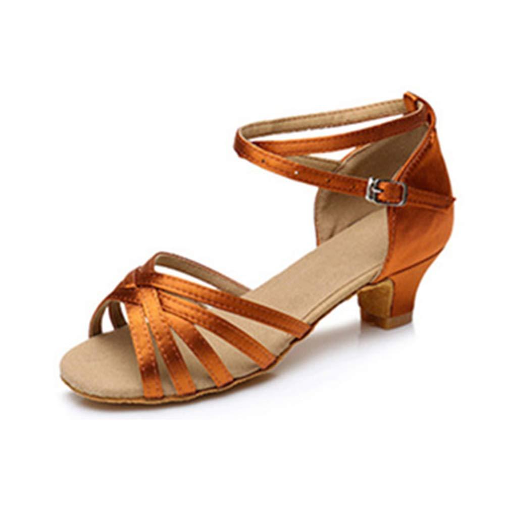 Brilliant sun Women Ladies Rumba Waltz Prom Ballroom Latin Ballet Dance Singles Shoes