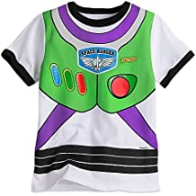 Disney Buzz Lightyear Costume Tee for Boys White