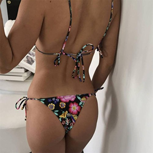 Push Up 2018 Nero Bikini Due BlueSterCool Donna Mare Costumi Swimwear Pezzi 0gZ8wa