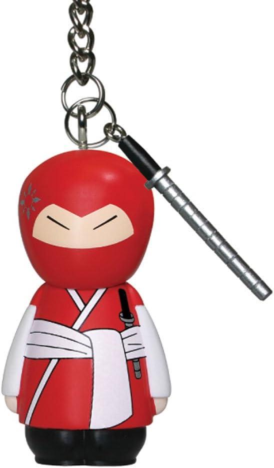 "Enesco Ukido Ninja Warriors Takeshi 3D Key Chain, 2.25"""
