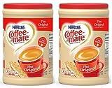 #7: Coffee-Mate Powder Original, 56 oz (2 Pack)