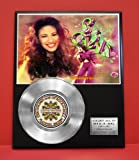 #4: Selena LTD Edition Non Riaa Platinum Record Display - Award Quality Music Memorabilia Wall Art -